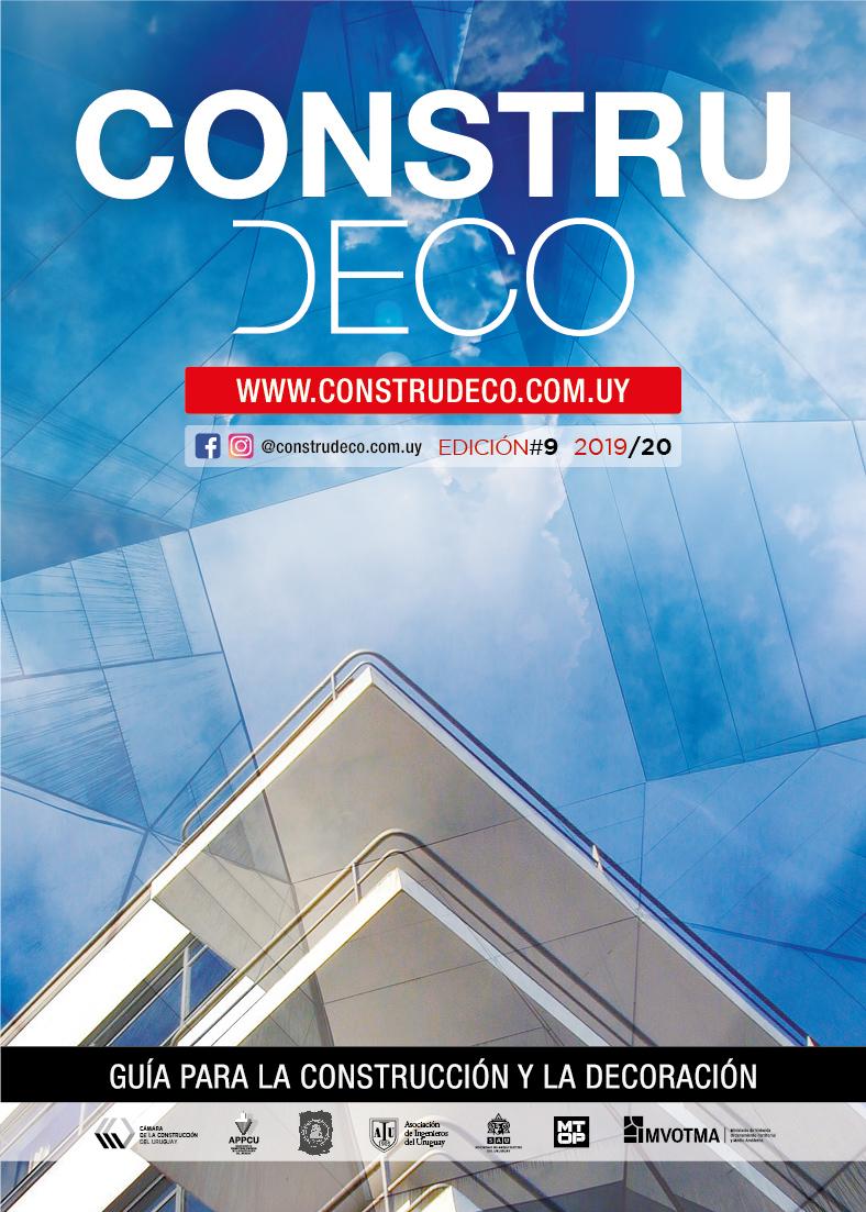 9° Edición de la guía más completa de proveedores del Uruguay, para la Construcción y Decoración.